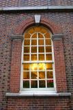 historiskt fönster Arkivfoton