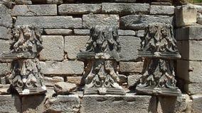 Historiskt fördärvar i Ephesus arkivfoto