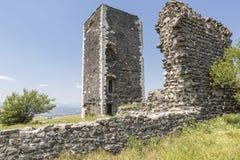 Historiskt försvartorn, Frankrike fotografering för bildbyråer