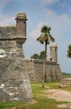 Historiskt fort arkivbild