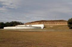 Historiskt fort Barrancas royaltyfri fotografi