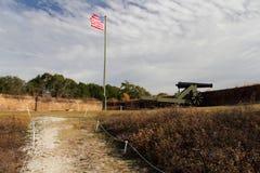 Historiskt fort Barrancas royaltyfri bild
