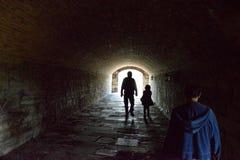 Historiskt fort Wayne Detroit MI Royaltyfri Fotografi