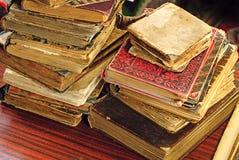 historiskt gammalt för bok arkivbilder