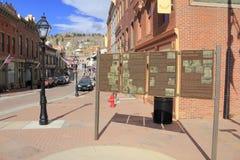 Historiskt gatatecken Royaltyfria Foton
