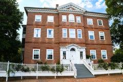Historiskt hem i Annapolis Arkivfoto