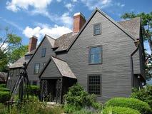 historiskt hus Arkivbild