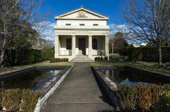 historiskt hus för bärdomstol Arkivbild