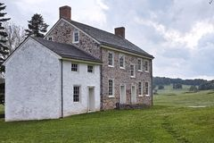 Historiskt hus för dalsmedja Royaltyfri Fotografi