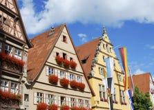 historiskt hus för facades Arkivbild