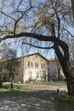 Historiskt hus i Brianza Arkivbilder