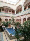 Historiskt hus i Yazd Iran Fotografering för Bildbyråer