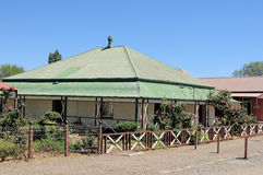 Historiskt hus, Kimberley Royaltyfri Foto