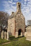 Historiskt kapell på Fordyce i Aberdeenshire, Skottland Royaltyfri Foto
