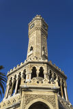 Historiskt klockatorn av Izmir Royaltyfria Foton
