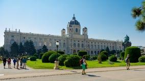 Historiskt museum av applicerade konster i Wien/det Kunsthistorisches museet i Wien Royaltyfri Foto