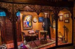 Historiskt museum av den Trakai slotten Royaltyfria Bilder