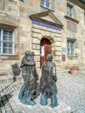 Historiskt museum - Bayreuth gammal stad royaltyfri foto