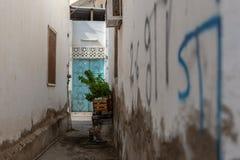 Historiskt område av Matrah i Muscat, Oman royaltyfri foto