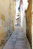 Historiskt område för gata av Cordoba Arkivbild