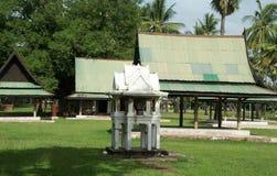 Historiskt parkera i sukhothai Royaltyfri Bild