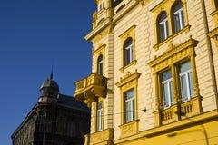 Historiskt radhus royaltyfria bilder