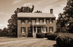 Historiskt Sandusky hus royaltyfria bilder
