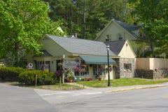 Historiskt shoppa i Ogunquit, MIG, USA Royaltyfria Foton