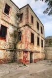 Historiskt Sinop fängelse Tarihi Sinop Kapali Cezaevi Sinop, Turkiet royaltyfria foton