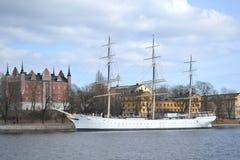 Historiskt skepp '' AF Chapman. royaltyfria bilder