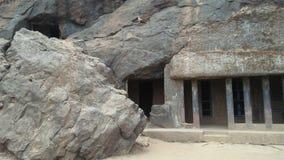 Historiskt ställe Bhaje leni royaltyfria foton