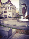 Historiskt ställe i Bucharest Arkivbild