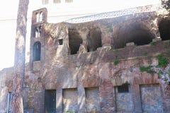 Historiskt ställe på Rome royaltyfria foton