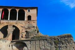 Historiskt ställe på Rome arkivbild