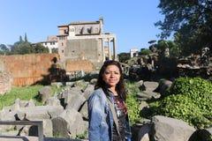 Historiskt ställe på Rome royaltyfri foto