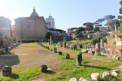 Historiskt ställe på Rome arkivfoto