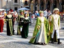 historiskt ståta vigevanoen Royaltyfri Bild