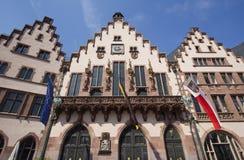 Historiskt stadshus av Frankfurt Royaltyfri Fotografi
