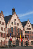 Historiskt stadshus av Frankfurt Arkivbild