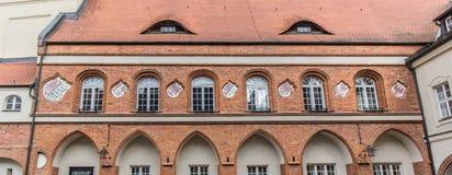 Historiskt stadshus av Gardelegen royaltyfria bilder