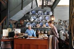 Historiskt stenlager, Kerikeri, Nya Zeeland Royaltyfria Foton
