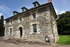 Historiskt stenlager, Kerikeri, Nya Zeeland Royaltyfria Bilder