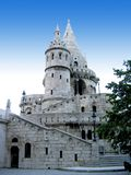 History. Historic building in Budapest. Fishermen's Tower close to Mathias Church Stock Photo