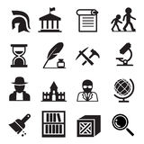 History & archaeology icons. Vector illustration Graphic Design symbol vector illustration