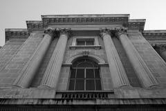 History building facade Royalty Free Stock Photo