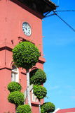History Clock Tower In Melaka Stock Photography