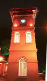 History Clock Tower at Melaka Royalty Free Stock Photos