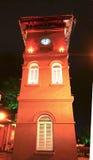 History Clock Tower at Melaka Royalty Free Stock Photos