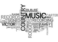 A History Of Country Music Word Cloud. A HISTORY OF COUNTRY MUSIC TEXT WORD CLOUD CONCEPT Royalty Free Stock Photos