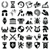 History and culture icon Royalty Free Stock Image